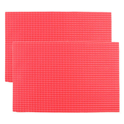 £3.97 • Buy 2Pcs  1:25 Roof Tile PVC Material Layout DIY Red Hobbyists Supplies