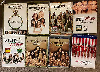 £207.31 • Buy Army Wives: COMPLETE Series DVD Set = Seasons 1-7   (with Rare Season 6 Part 1)