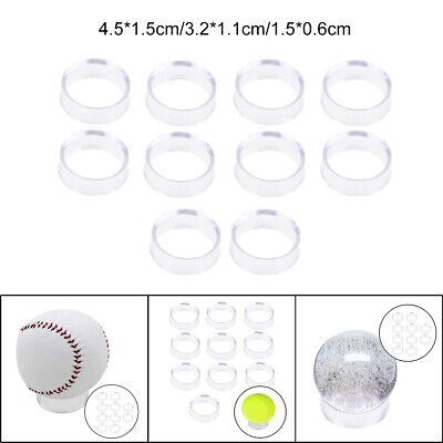 £3.06 • Buy 10Pcs Transparent Display Stand Crystal Ball Glass Marbles Stone Sphere Base