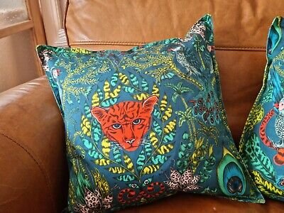 £12.95 • Buy Cushion Cover In Clark And Clark Amazon By Emma Shepley 16 By 16 Inch