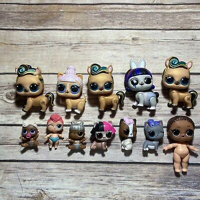 $ CDN21.39 • Buy LOL Surprise Doll Lot Of 12 PETS DOLLS REPLACEMENT CUSTOMS TLC Luxe Tinz Funky