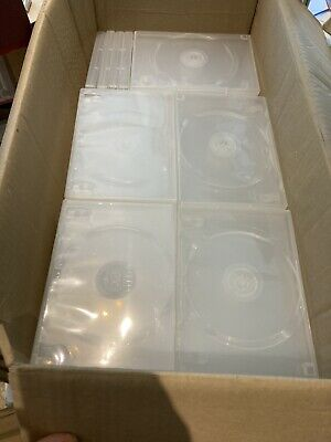 £14.99 • Buy 92 Empty DVD Cases, 68 Clear, 24 Black