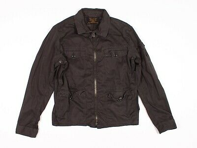 $35.54 • Buy Mens J Crew Brown Cargo Military Utility Jacket Size L Large