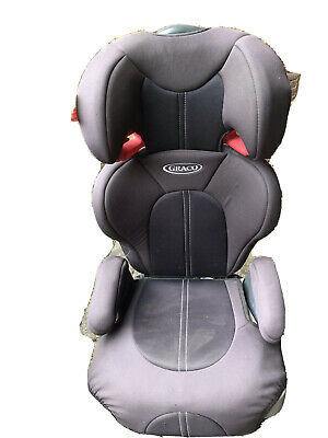 £10 • Buy Graco Junior Maxi Lightweight 4-12 Years Kids High Back Booster Car Seat - Black