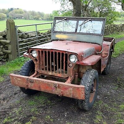 £4500 • Buy 1942 Ford GPW Jeep Classic Car Military Vehicle Barn Find Willys Jeep
