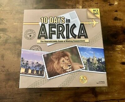 £70 • Buy 10 Days In Africa Board Game - Out Of The Box - Complete