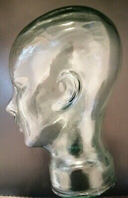 £30 • Buy Hollow Glass Head Display Show Ornament Mannequin