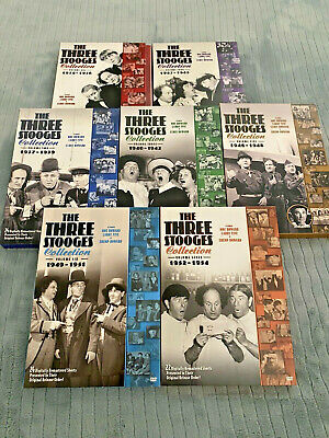 £7.27 • Buy The Three Stooges Volumes 1-7. DVD Lot 1934-1954