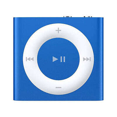 £107.88 • Buy Apple IPod Shuffle 2GB, Up To 15 Hours Of Battery Life, Blue (4th Generation)