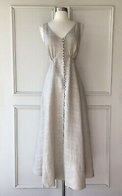 AU89.95 • Buy | COUNTRY ROAD | Linen Midi Dress Sand | NEW | $199 | SIZE: 6,8,10 |