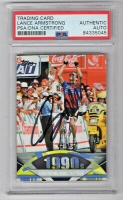 £203.61 • Buy 2011 Topps American Pie Lance Armstrong Wins 1st Signed Auto Card #178 PSA/DNA