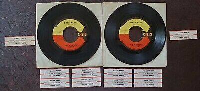 $15.99 • Buy Vintage Chess Label 45 Rpm Records The Majestics Oasis Pt 1&2 Title Strips Tags