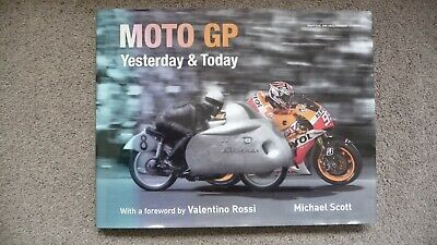 £1.99 • Buy Moto GP Yesterday And Today Hardback Book With DJ By Michael Scott Excellent Con
