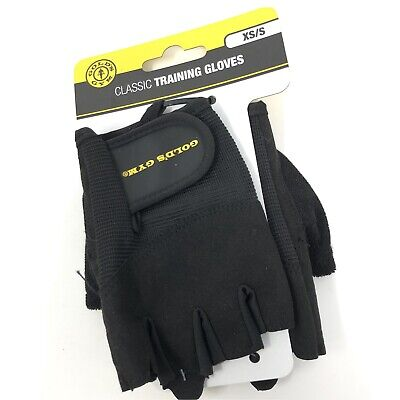 £10.08 • Buy Gold's Gym Classic Weight Training Gloves XS / Small  NEW