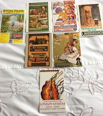 £1.50 • Buy London Underground Poster Postcards Lovely Collection 7 In Total