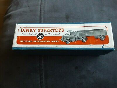 £17.99 • Buy Dinky Supertoys 521 Bedford Articulated Lorry Original Box Only !