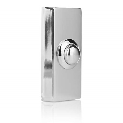 £13.18 • Buy Byron Wired Bell Push Surface Mounted - Chrome