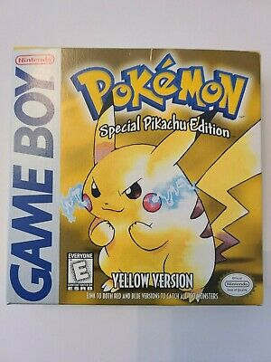 $1200 • Buy Pokemon Yellow Special Pikachu Edition - CIB - Excellent Condition - Authentic!