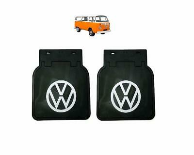 AU58.80 • Buy Vw Bus Kombi Baywindow Black Mud Flaps Pair Left And Right Front Or Rear