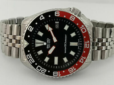$ CDN50.33 • Buy Vintage Seiko Diver 7002-7000 Black Face Modded Automatic Mens Watch 452169