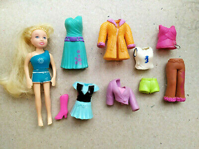 £3.99 • Buy 2001 Vintage Polly Pocket Clothes Bundle 1 Doll 1 Pair Of Shoes LOT RARE