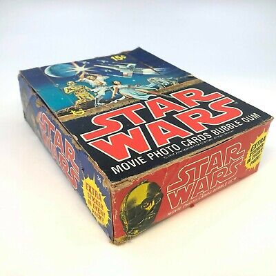 $ CDN25.82 • Buy Vintage Topps Star Wars Trading Card Movie Cards Box (Empty) - SEE PHOTOS