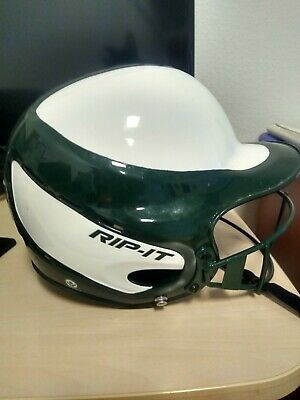 $25 • Buy Rip It Softball Helmet, White And Green, New Excellent Condition