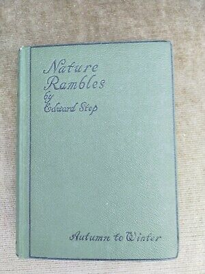 £4 • Buy Nature Rambles By Edward Step Autumn To Winter1934