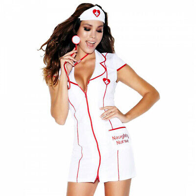 £10.99 • Buy Sexy Ann Summers Naughty Nurse Fancy Dress Outfit Costume Complete Size 12