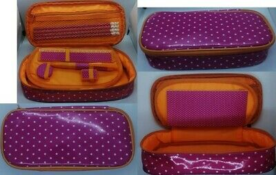 £9.98 • Buy Polka Dot Pre Filled Pencil Case With Zip Up Closure Back To School
