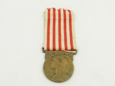 £3.20 • Buy WW1 France / French 1914 - 1918 Commemorative War Medal With Ribbon