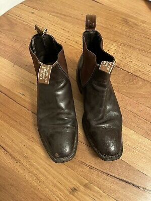 AU99 • Buy R. M. WILLIAMS AU Men's 8 G Cf Chestnut Brown  Leather Pull On Boots