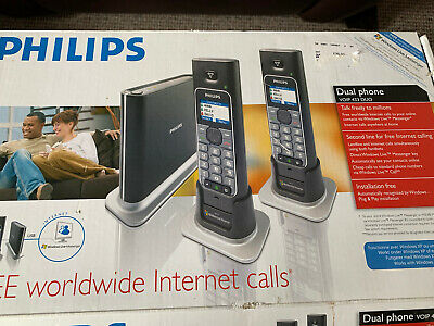 £24.99 • Buy Philips Dual Phone VOIP 433 Duo -New In  Box.