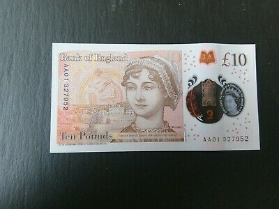 £25 • Buy £10 Note AA01 - Uncirculated Ten Pound Note