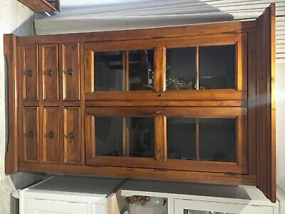 £95 • Buy Tall Dining Room Solid Wood Display Cabinet