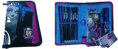 £9.98 • Buy Monster High The Scream  Team Filled Pencil Case Zip Up Closure Back To School