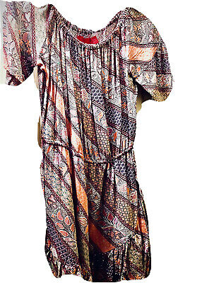 AU5 • Buy Tigerlily Dress With Draw In Waist And Pretty Fabric. Size Small.