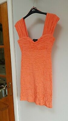£6.99 • Buy River Island Coral Dress Size 12