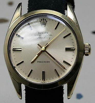 AU1596.58 • Buy Very Rare ! Rolex Oyster Perpetual Air-king Ref. 5520 With Gold-capped Case
