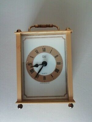 £5 • Buy GM Quartz Battery Operated Carriage Clock