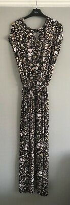 £7.50 • Buy Dorothy Perkins Maxi Dress Size 18 Floral Pattern, Belted. Elasticated Waist