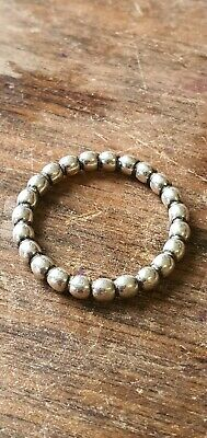 AU13.90 • Buy Genuine Pandora Solid Silver Ring Jewllery Stamps925 Ale Balls Size 56
