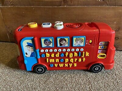 £6 • Buy Vtech Playtime Bus With Phonics Lights & Sounds