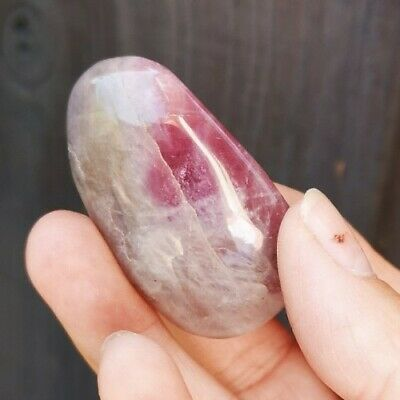 £4.99 • Buy Stunning   Amethyst Polished Gallet, Pebble, Palm Stone