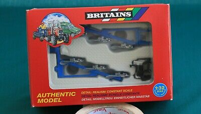 £13.50 • Buy Britains Plough Set, Front And Rear 9549, 1:32 Scale.