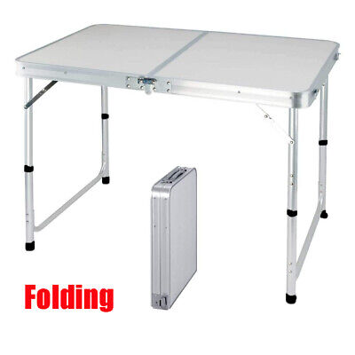£29.30 • Buy 4ft Heavy Duty Folding Table Portable Plastic Camping Garden Party Catering New