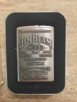 AU40 • Buy Collectible JIM BEAM Vintage ZIPPO Lighter Unused In Box As New