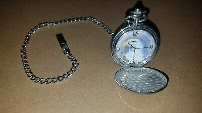 $25 • Buy Collectible Eagle Pocket Watch Majestic Flight Al Agnew In Tin By Avon