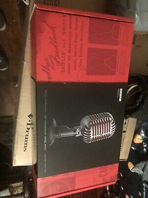 £449.99 • Buy Shure 5575LE , 75th Anniversary Limited. Edition , Unidyne 55