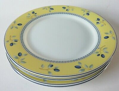 £30.50 • Buy Royal Doulton Blueberry Salad Plates X 4 - 7 1/2 Inch